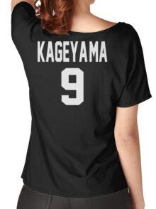 Haikyuu!! Jersey Kageyama Number 9 (Karasuno) Women's Relaxed Fit T-Shirt