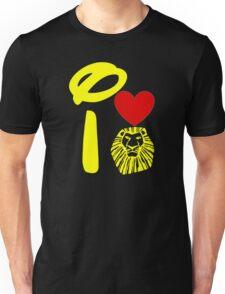 I Heart The Lion King (Gold) Unisex T-Shirt