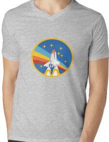Nasa Mens V-Neck T-Shirt
