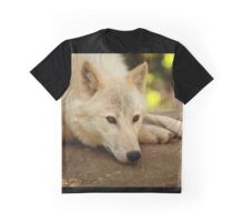 Arctic Wolf: Contemplative II Graphic T-Shirt