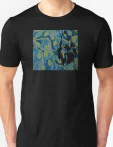 Fantasy - Wolf on mural Unisex T-Shirt