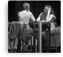 Privat conversation - Infrared Canvas Print