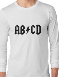 ACDC Alphabet Long Sleeve T-Shirt