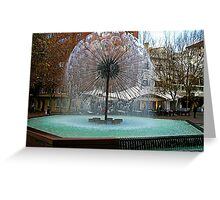 Fountain at Kings Cross Sydney Greeting Card