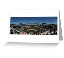 Oakland Coliseum Greeting Card