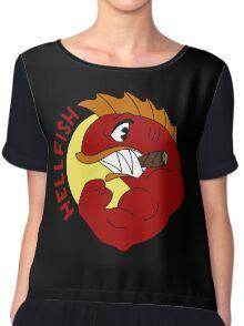 Hellfish Chiffon Top