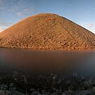Silbury Golden Frost Panorama (2) by Steve Marshall