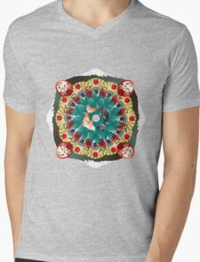 Heart of Japan Mens V-Neck T-Shirt
