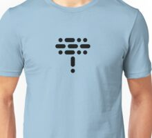 LOL! Morse Code Edition (Black) Unisex T-Shirt