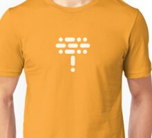 LOL! Morse Code Edition (White) Unisex T-Shirt