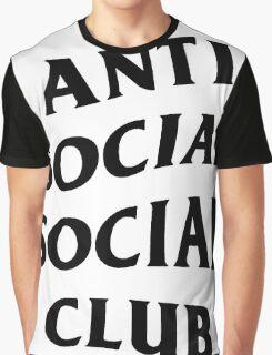 Anti Social Club  Graphic T-Shirt