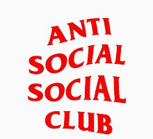 Red Anti Social Club Unisex T-Shirt
