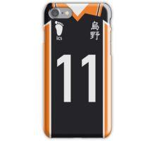 Karasuno Jersey - #11 Tsukishima Kei iPhone Case/Skin