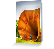 In Awe or Overawed? Greeting Card