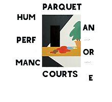 Parquet courts Photographic Print