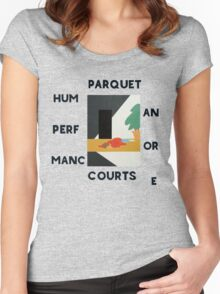 Parquet courts Women's Fitted Scoop T-Shirt