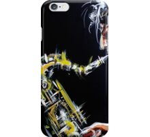 Jazzing the dark iPhone Case/Skin
