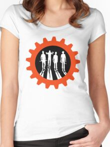 CLOCKWORK CREW Women's Fitted Scoop T-Shirt