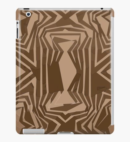 Brown Gold Vector Abstract unique  iPad Case/Skin
