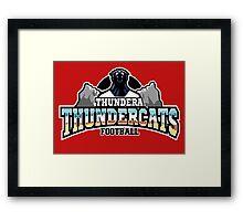 Thundera Thundercats Framed Print