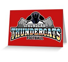 Thundera Thundercats Greeting Card