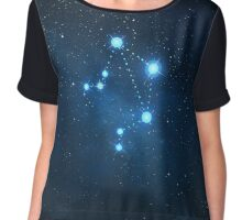 Libra Constellation Chiffon Top