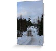Somewhere in Sweden Greeting Card