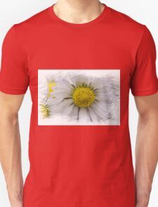 white daisies in spring Unisex T-Shirt