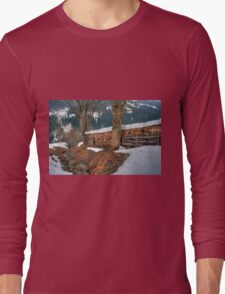 Saalbach, Austria Long Sleeve T-Shirt