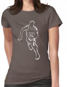 Michael Jordan - White Womens Fitted T-Shirt