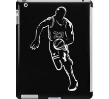 Michael Jordan - White iPad Case/Skin
