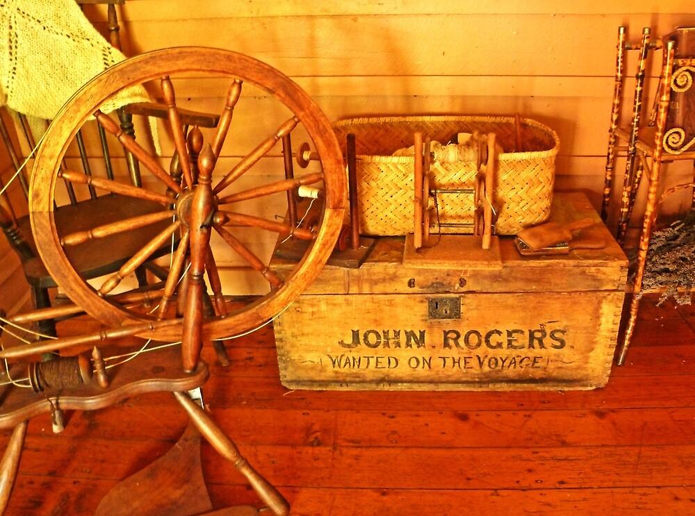 Pioneer Parlour - Many A Yarn Spun Here by TonyCrehan