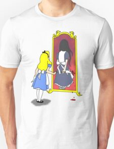 Madness through the looking glass Unisex T-Shirt