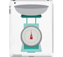 Kitchen Scales iPad Case/Skin