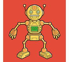 Robot 001 Photographic Print