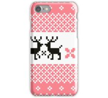 Cute Norwegian knitted pattern iPhone Case/Skin