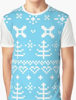 Traditional winter knitted pattern Graphic T-Shirt