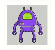 Robot 002 Art Print