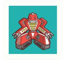 Robot 003 Art Print