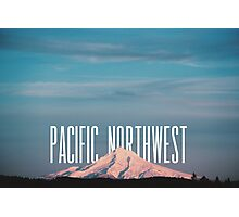 Pacific Northwest MT Hood Photographic Print