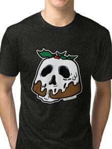 Poison Christmas Pudding Tri-blend T-Shirt