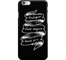 Duchovny Inspired (D) iPhone Case/Skin