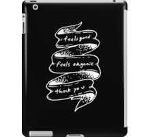 Duchovny Inspired (D) iPad Case/Skin