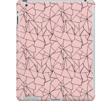 Web Pink and Black iPad Case/Skin