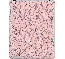 Web Pink and Black iPad Case/Skin