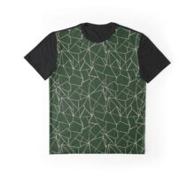 Web Green and Pink Graphic T-Shirt