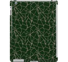 Web Green and Pink iPad Case/Skin