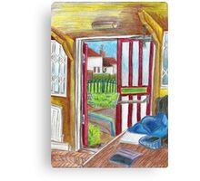 Escape on Saturday Morning Canvas Print