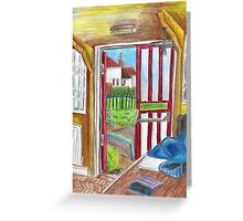 Escape on Saturday Morning Greeting Card