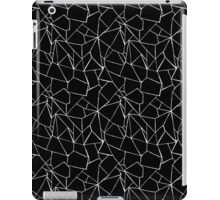 Web Black and White iPad Case/Skin